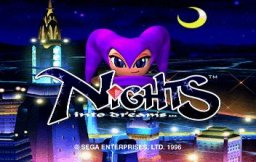 NiGHTS Into Dreams... (SS)   © Sega 1996    1/19