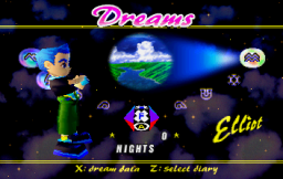 NiGHTS Into Dreams... (SS)   © Sega 1996    2/19