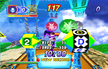 NiGHTS Into Dreams... (SS)   © Sega 1996    7/19