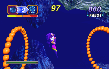 NiGHTS Into Dreams... (SS)   © Sega 1996    8/19