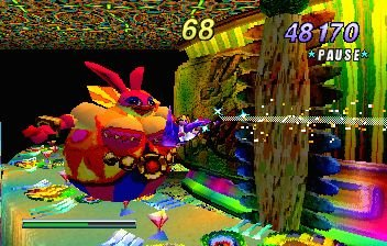 NiGHTS Into Dreams... (SS)   © Sega 1996    14/19