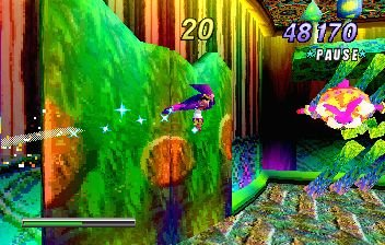 NiGHTS Into Dreams... (SS)   © Sega 1996    15/19