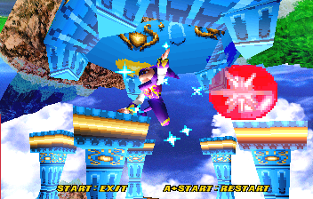 NiGHTS Into Dreams... (SS)   © Sega 1996    17/19
