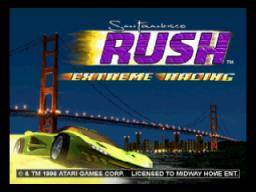 San Francisco Rush: Extreme Racing (N64)  © Midway 1997   1/3