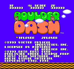 Boulder Dash (NES)  © Nintendo 1990   1/3