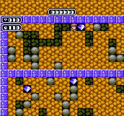Boulder Dash (NES)  © Nintendo 1990   2/3