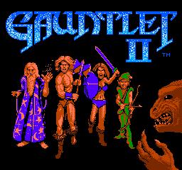 Gauntlet II (NES)  © Mindscape 1990   1/3