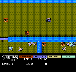 Gauntlet II (NES)  © Mindscape 1990   2/3