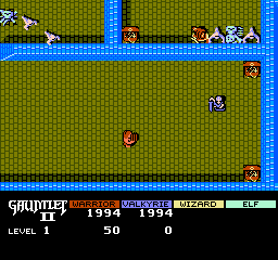 Gauntlet II (NES)  © Mindscape 1990   3/3