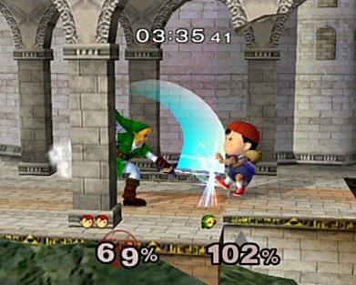 Super Smash Bros. Melee (GCN)  © Nintendo 2001   4/5