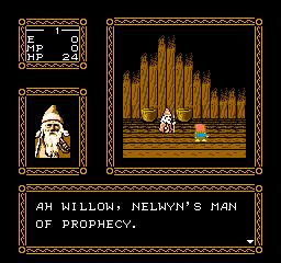 Willow (1991) (NES)  © Capcom 1989   3/3