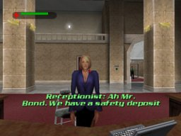 007: The World Is Not Enough  © EA 2000  (N64)   2/3