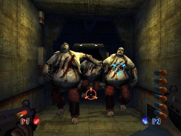 The House Of The Dead III (XBX)  © Sega 2002   4/5