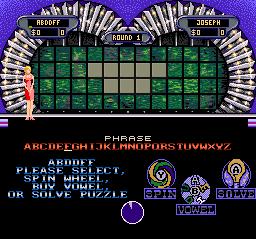 Wheel Of Fortune: Deluxe Edition (SNES)  © GameTek 1994   2/3