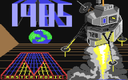 1985: The Day After (C64)   ©  1984    1/2