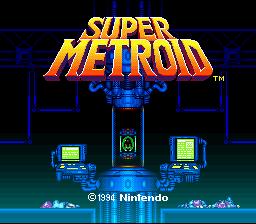 Super Metroid (SNES)  © Nintendo 1994   1/11