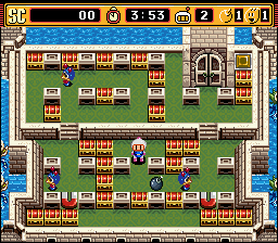 Super Bomberman 2 (SNES)   © Hudson 1994    2/4