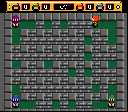 Super Bomberman 2 (SNES)   © Hudson 1994    4/4