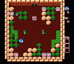 Adventures Of Lolo 2 (NES)  © HAL Laboratory 1990   3/3