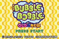 Bubble Bobble: Old & New (GBA)  © Empire 2002   1/3
