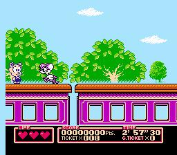 Tiny Toon Adventures 2: Trouble In Wacky Land (NES)  © Konami 1992   3/3