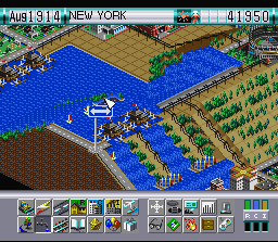 SimCity 2000 (SNES)   © THQ 1995    3/3