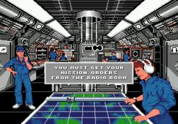 688 Attack Sub (SMD)  © Sega 1991   3/3