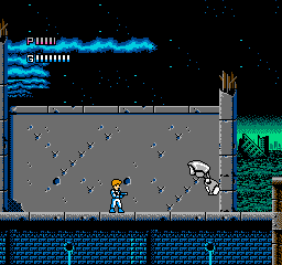 Journey To Silius (NES)  © SunSoft 1990   2/3