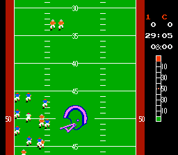 10-Yard Fight  © Nintendo 1985  (NES)   2/5