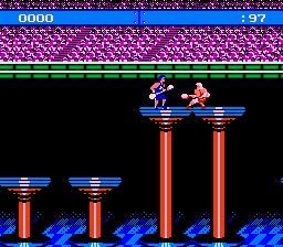 American Gladiators (NES)  © GameTek 1991   2/3
