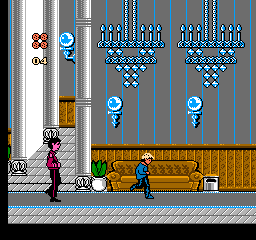 Home Alone 2: Lost In New York (NES)  © THQ 1992   2/3