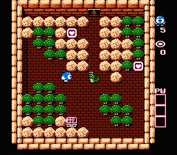 Adventures Of Lolo (NES)  © HAL Laboratory 1989   3/3