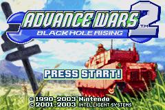 Advance Wars 2: Black Hole Rising (GBA)  © Nintendo 2003   1/3