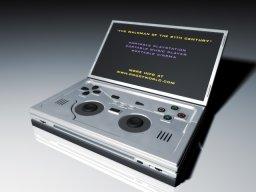 PSP Mock-up  ©    (PSP)  Boom-box/retro PSP 2/5