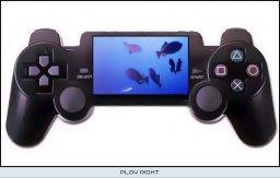 PSP Mock-up  ©    (PSP)  Første håndholdte med optimal kontrol?|First handheld with optimal control? 5/5