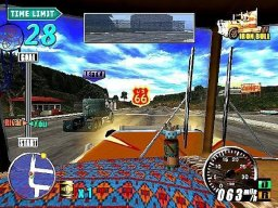 The King Of Route 66 (PS2)   © Sega 2003    1/3