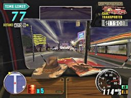 The King Of Route 66 (PS2)   © Sega 2003    2/3