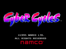 Cyber Cycles (ARC)   © Namco 1995    1/3