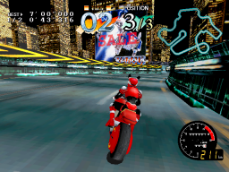 Cyber Cycles (ARC)   © Namco 1995    3/3