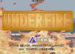 Under Fire (1994) (ARC)  © Taito 1994   1/3
