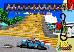 Power Drift (ARC)  © Sega 1988   2/6
