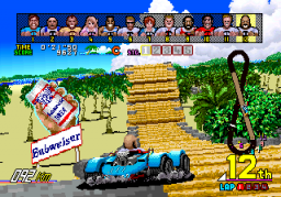 Power Drift (ARC)  © Sega 1988   3/6