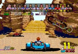 Power Drift (ARC)  © Sega 1988   5/6