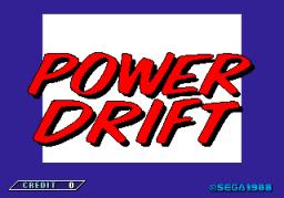 Power Drift (ARC)  © Sega 1988   1/6