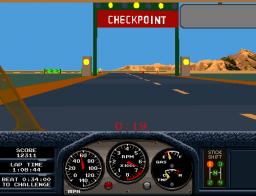 Race Drivin' (ARC)  © Atari Games 1990   2/4