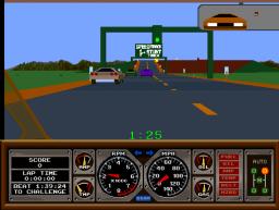 Race Drivin' (ARC)  © Atari Games 1990   3/4