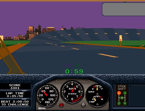 Race Drivin' (ARC)  © Atari Games 1990   4/4