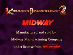 Killer Instinct 2 (ARC)  © Midway 1996   1/7