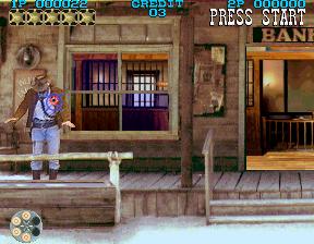 Lethal Enforcers II: Gunfighters (ARC)  © Konami 1994   4/5