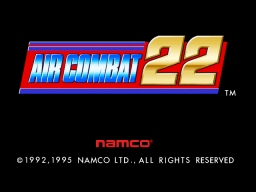 Air Combat 22 (ARC)  © Namco 1995   1/3